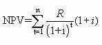 Discount rate calculation formula